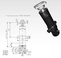 Гидроцилиндр  КАМАЗ для подъ платформы прицепа СЗАП-8551-01