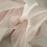 Тюль Микровуаль Семия светло -розовая, однотонная + высококачественный пошив