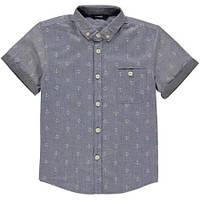 """Рубашка для мальчика George UK """"Якоря"""" р.4"""