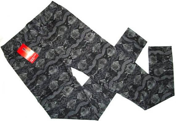 Лосины брючные питон размер M-L,XL-XXL