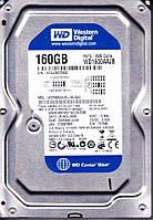 Жесткий диск бу HDD SATA  160Gb Western Digital