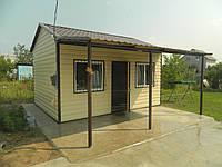 Дачный дом 22м2 + навес 10м2