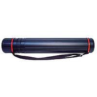 Тубус для черчения пластиковый раздвижной SK-938 108x7,2 см.