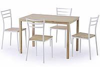 Комплект для столовой Halmar Avant из стола и стульев