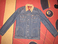 Куртка джинсовая Levis р. XL ( теплая )