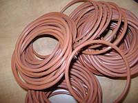 Кольцо фторкаучук 013-017-25 FPM красный цвет Viton ТУ 38 105646-78