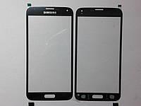 Стекло Samsung G900, Galaxy S5  черное high copy.