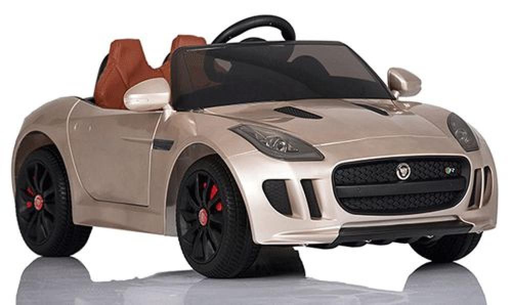 Детские электромобиль JAGUAR DMD218 PAINTING Лицензия модель 2016г золото