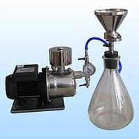 Прибор вакуумного фильтрования ПВФ-35 (47) Б (РМ) для определения чистоты топлив и масел
