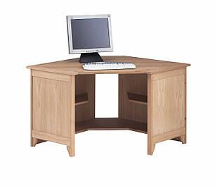 """Компьютерный стол """"Оператив"""" из массива дерева"""
