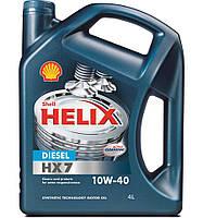 SHELL 4л Масло полусинтетика Helix HX7 Diesel10W-40 API CF; ACEA A3/B3