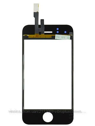 Тачскрин (сенсор) Apple iPhone 3G, black (чёрный), фото 2