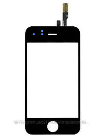 Тачскрин (сенсор) Apple iPhone 3G, black (чёрный)