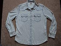Рубашка джинсовая Levis  р. XL L ( НОВОЕ ) SlimFiT