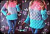 Модная молодежная женская кофта в расцветках