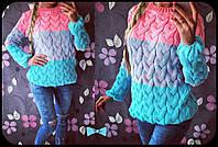 Модная молодежная женская кофта в расцветках, фото 1