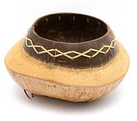 Блюдо декоративное из кокоса