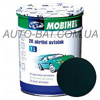 Автоэмаль двухкомпонентная автокраска акриловая (2К) 307 Зелёный сад Mobihel, 1 л