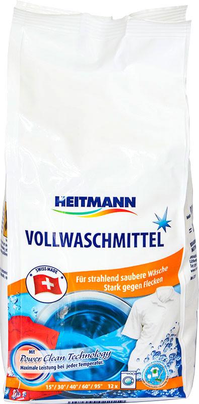 Стиральный порошок для белого с отбеливателем Heitmann 900г 12 стирок