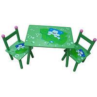 """Детский столик со стульчиками W02-279 """"Мишки"""""""