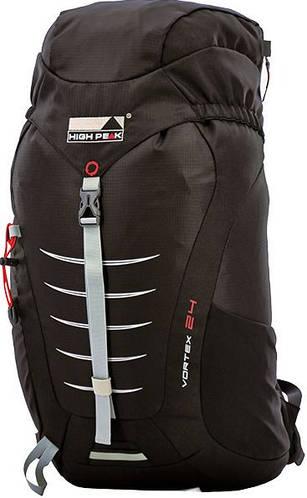 Практичный городской рюкзак High Peak Vortex 24 л. 923015 черный