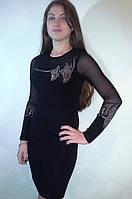 Вечернее платье с камнями, фото 1