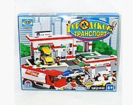"""Конструктор Городской транспорт """"Автосервис"""" SLUBAN M38-B2900, 727 деталей"""