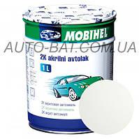 Автоэмаль двухкомпонентная автокраска акриловая (2К) Ford B3 Diamond White Mobihel, 1 л