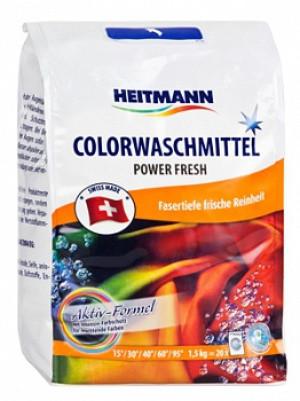Стиральный порошок для цветного белья Heitmann 1,5кг 20 стирок