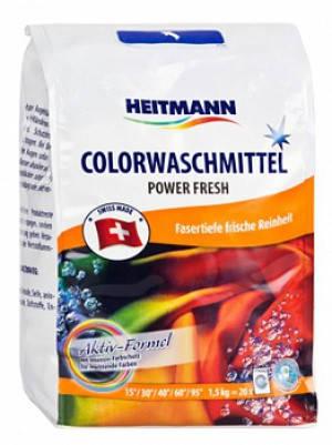 Стиральный порошок для цветного белья Heitmann 1,5кг 20 стирок, фото 2