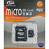 Карта памяти microSD Team 2Gb (adapter SD)