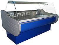 Холодильная витрина Айстермо ВХСК ЕВРОПА 1.3 (0...+8°С, 1300х1160х1200 мм, гнутое стекло)