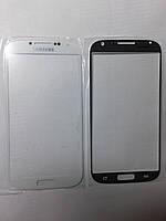 Стекло  Samsung I9500, Galaxy S4 белое high copy.