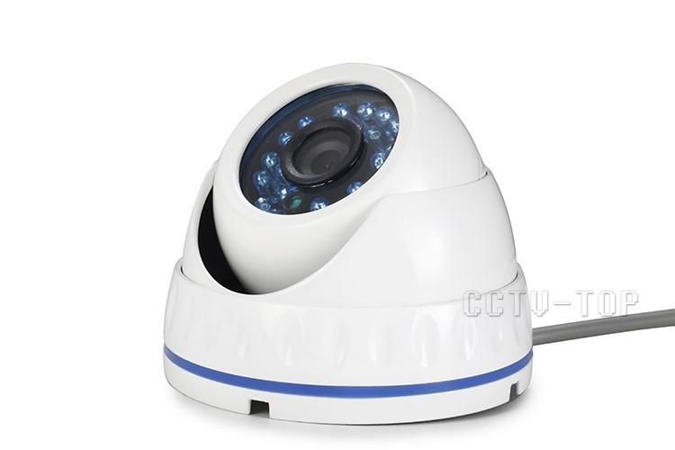 Аналоговая противоударная Камера  видеокамера видеонаблюдения уличная антивандальная 1000TVL металлическая - PodKontrolem в Кривом Роге