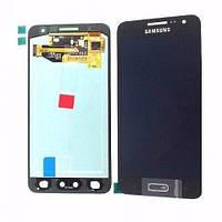Дисплей Samsung Galaxy A3 SM-A300F Original complete Black