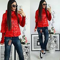 Куртка женская,  модель 205, красный, фото 1