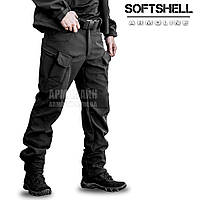 "Брюки SoftShell ""DIVISION"" BLACK"