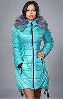 Куртка модного фасона красивого цвета
