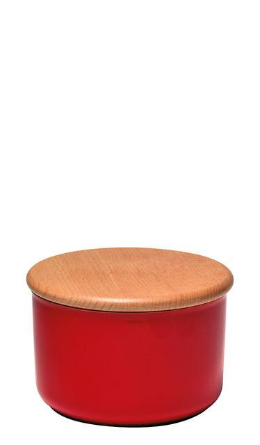 Емкость для хранения с крышкой Emile Henry 0,3 л красная 348745