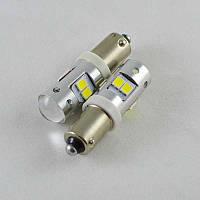 Светодиодная автомобильная лампа SLP LED в габариты с цоколем BA9S(H4W) 8-2835 led