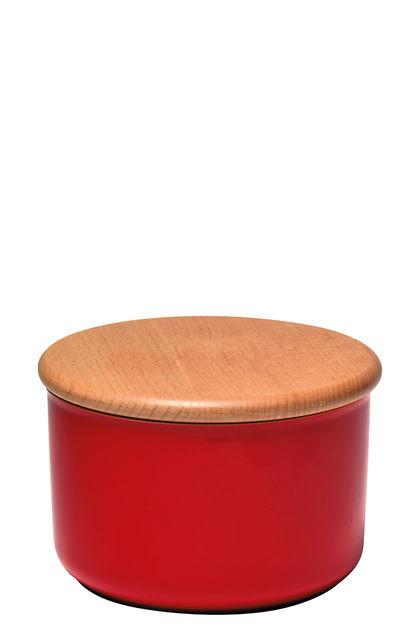 Емкость для хранения с крышкой Emile Henry 1 л красная 348741