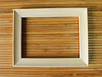 Деревянная рамка 30х40 см (липа скошенный 24 мм), фото 1