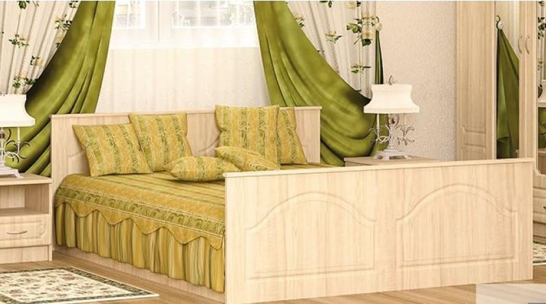 Кровать с ламелями 160 Бавария Мебель-сервис