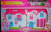 Дом кукольный 2 этажа