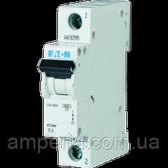 Eaton/Moeller 4kA PL4-C6/1 6А, 1-полюсний автоматичний вимикач
