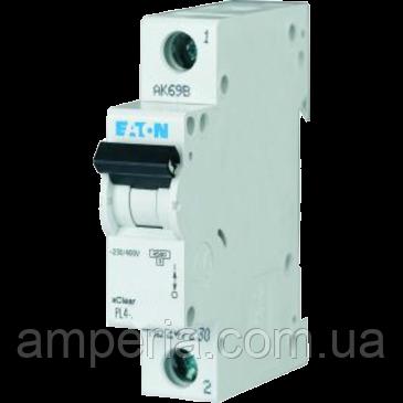 Eaton/Moeller 4kA PL4-C6/1 6А, 1-полюсный автоматический выключатель, фото 2