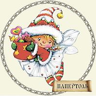 Набор для создания картины в технике Папертоль РТ150070. ДЕВОЧКА-КОЛОКОЛЬЧИК