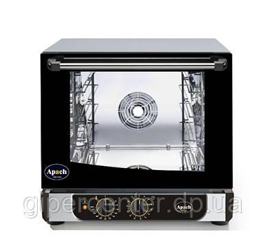 Конвекционная печь Apach AD44М с механическим управлением (4 уровня GN2/3 или 470х340 мм)