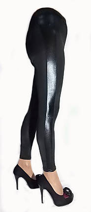 Лосины модель БАТАЛ № 209 с кожаными вставками, фото 2