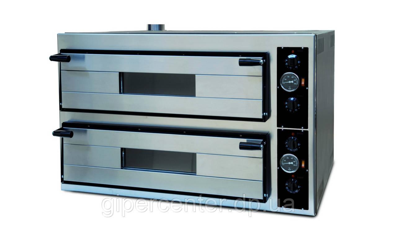 Электрическая печь для пиццы Apach АMM66 (две камеры 700х1050х130 мм)